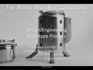 Design/Engineering Prototype Process