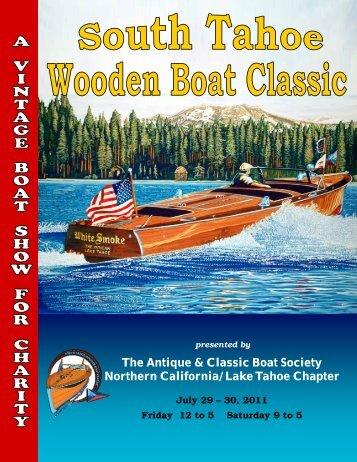 Download 2011 program - ACBS-tahoe.org
