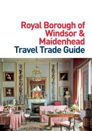 Travel Trade Guide for groups - Windsor