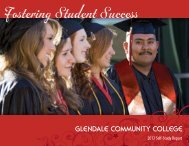 2012 Self-Study Report - Glendale Community College