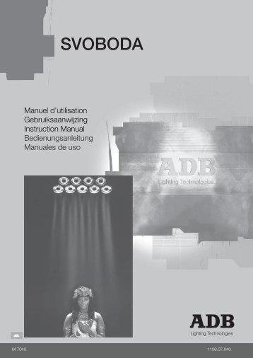 SVOBODA - ADB Lighting Technologies