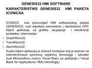 Karakteristike GraphWorX32 paketa