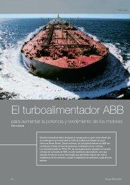 El turboalimentador ABB