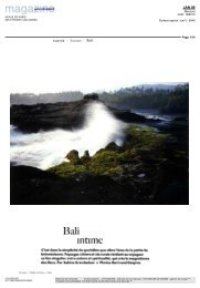 Bali intime - Voyageurs du Monde
