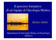 La relazione del dott. Aitini - Oncologia Rimini