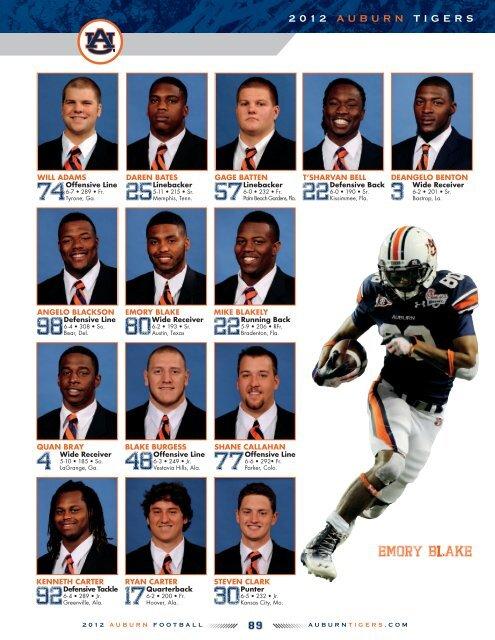 defensive Back - Auburn University Athletics