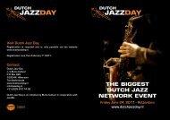 Dutch Jazz Day - Buma Cultuur