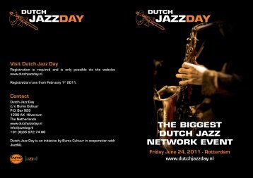 Dutch Jazz Day - Buma Cultuur