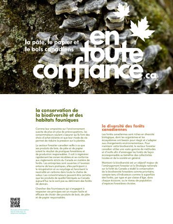 en anglais - Forest Products Association of Canada