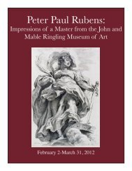 Peter Paul Rubens: - Museum of Fine Arts