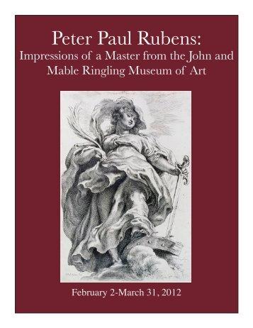 Peter Paul Rubens: - Museum of Fine Arts