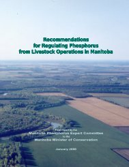 Manitoba Phosphorus Expert Committee, Final Report