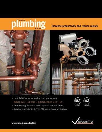 Plumbing - Victaulic