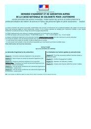 DEMANDE D'AGREMENT ET DE SUBVENTION AUPRES ... - ADIPh