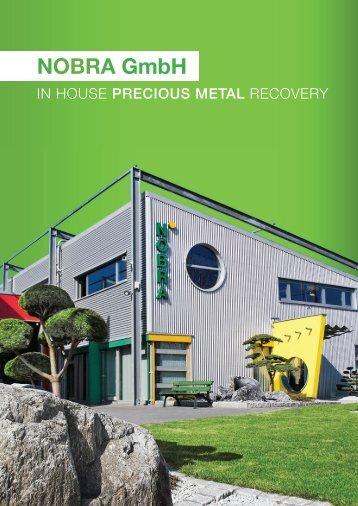 Company brochure - NOBRA GmbH