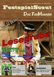 Leseprobe Nr.8 - FestspielScout.de