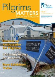 MATTERS ISSUE 5 - Pilgrims Hospices