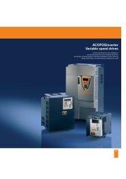 ACOPOSinverter X64 3-phase 200-240V