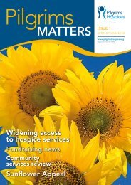 MATTERS ISSUE 1 - Pilgrims Hospices