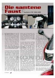 Honda CB 1300 ABS - Kultourbikes.de