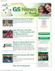 GSNews for Parents July 25 - Girl Scouts of Greater Atlanta