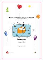 Functiebeschrijvingen en competentieprofielen: Inleiding - Fedweb