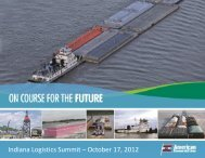 Indiana Logistics Summit – October 17, 2012