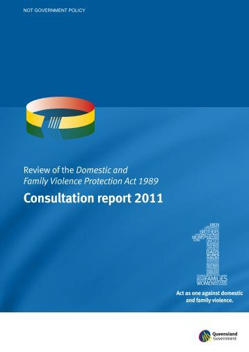 Review of the Domestic and Family Violence Protection Act 1989 ...