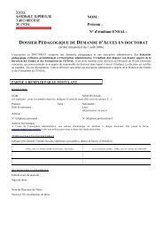 Dossier pédagogique - École Nationale Supérieure d'Architecture ...