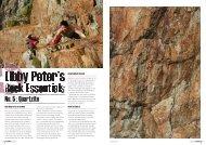 No. 5 : Quartzite - Libby Peter