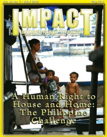 Php 70.00 Vol. 44 No. 7 • JULY 2010 - IMPACT Magazine Online!