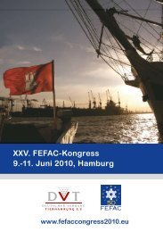 XXV. FEFAC-Kongress 9.-11. Juni 2010, Hamburg - Dr. Eckel
