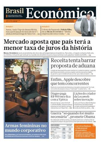 Mercado aposta que país terá a menor taxa de ... - Brasil Econômico