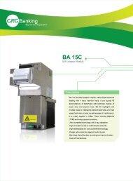 Описание купюроприемника GRG BA-15C (1,3 Mб) - Sensis