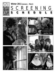 Winter 2011 - Ojai Film Society