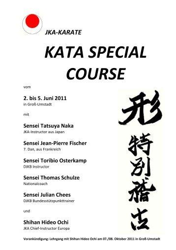 jka-karate kata special course