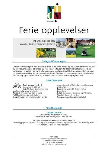 Opplev landskapet i Bourgogne på sykkel - Vidy Reiser
