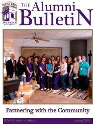 The Alumni Bulletin - Western New Mexico University