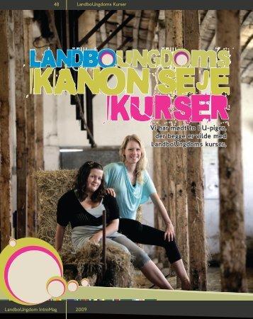 læse om Kristine og Maria - Danmarks Landboungdom