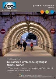 Re-Lighting Historic Nimes - Architectural SSL