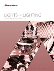 LIGHTS + LIGHTING - Made-in-China.com