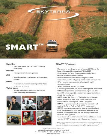 SMART Brochure - MJ Sales Inc.
