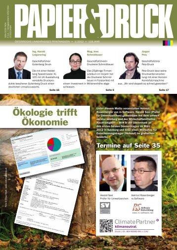 Ausgabe als PDF downloaden (ca. 3Mb) - Papier & Druck