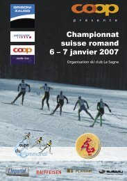 Pages WEB.indd - Ski Romand (ch)