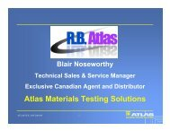 Atlas Materials Testing Solutions - The Institute of Textile Science