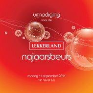 najaarsbeurs - Lekkerland