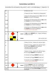 Startverfahren nach RRS 26
