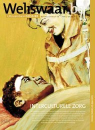 Dossier interculturele zorg - Weliswaar
