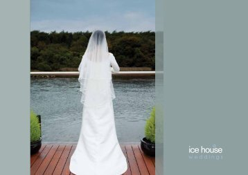 Wedding Brochure - Ice House