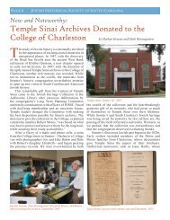 Temple Sinai Archives Donated to the College of - Jewish Historical ...